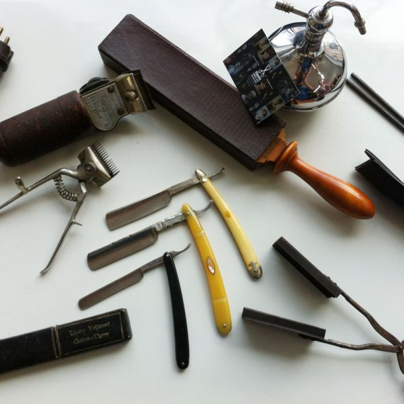 Vintage Friseurwerkzeug